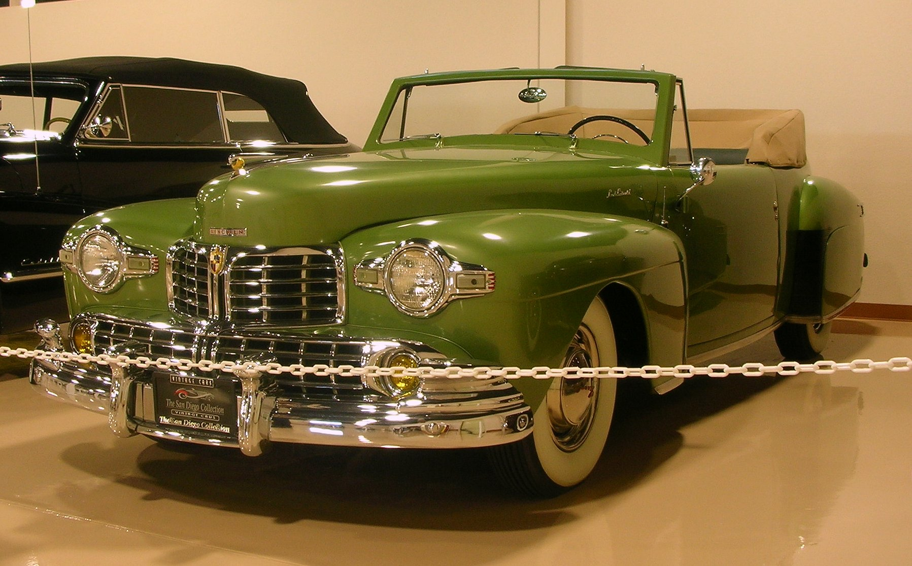 1947 Lincoln Continental V12 Convertible